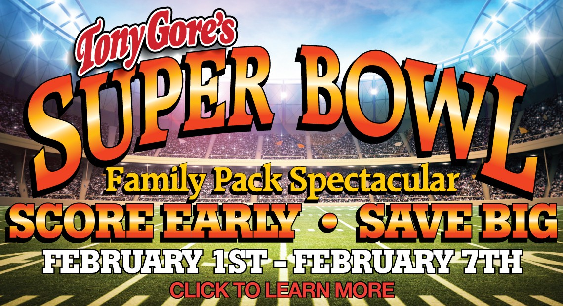 super bowl family pack spectacular savings discount bbq special offer
